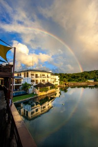 Rainbow - Manta Ray Bay Resort - Yap